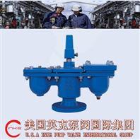 進口雙孔排氣閥簡述與技術參數及結構特點