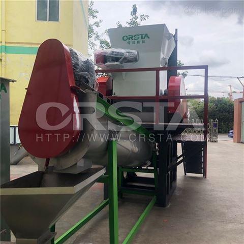 固废化学油桶处置清洗破碎生产线