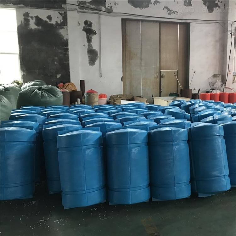 水下垃圾挂网塑料浮筒水库导漂排