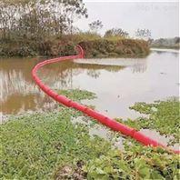 水库拦污屏垃圾拦截浮筒