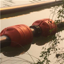 河道清淤疏浚管道浮筒