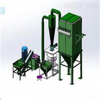 大型气带传动磨粉机