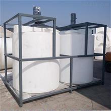 MC-500L帶減速機攪拌藥劑桶