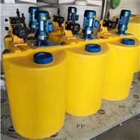 圆形加药箱水处理加药桶自动加药装置