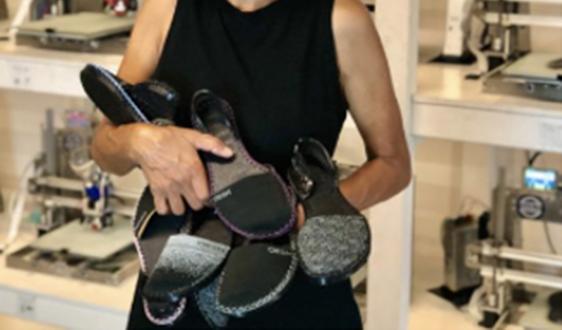 OESH鞋3D打印100%可回收鞋底使用亨斯迈TPU弹性体